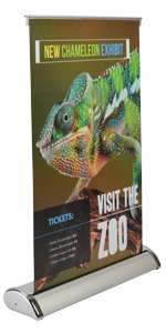 """Table Top Banner Stand 11.5""""x17.5"""""""